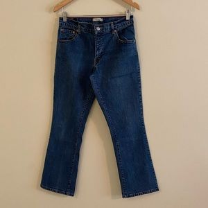 Levi's 550 Relaxed Boot Cut Hi Waist Jeans 10S